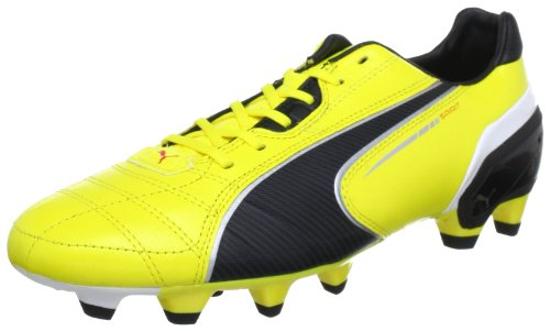 Puma Spirit FG 102671, Scarpe da calcio uomo, Giallo (Gelb (blazing yellow-black-whit 01)), 42