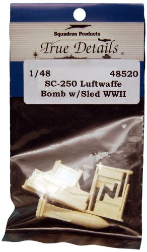True Details SC-250 Luftwaffe Bomb with Sled