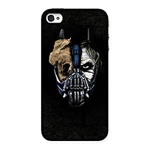 Gorgeous Mutation Multicolor Back Case Cover for iPhone 4 4s