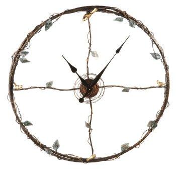 Bird and Twig Wall Clock
