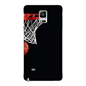 Gorgeous Basket Ball Multicolor Back Case Cover for Galaxy Note 4