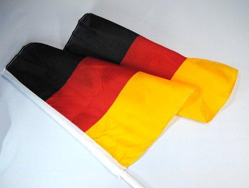 10er Set Autofahnen Deutschland *WM 2010*