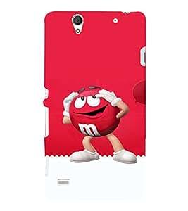 EPICCASE M&M case Mobile Back Case Cover For Sony Xperia C4 (Designer Case)