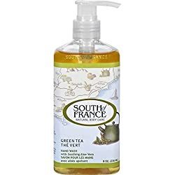 Hand Wash, Green Tea 8 fl oz by South Of France Soaps