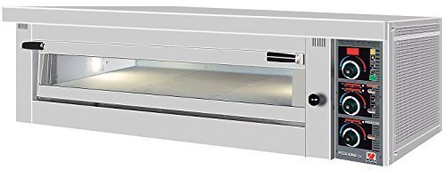 North Pro Gas FP 100 Commercial Electric Pizza Oven with Fire Resistant Plate - 6 pizzas Ø360mm (400V-3N-AC-50Hz) (Made in Greece)