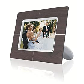 Philips 6.5-Inch Digital Picture Frame (Wood)