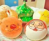 ロイヤルガストロ お絵かきマカロン クリスマス動物っこ 5個入(絵柄5種類)・箱入り