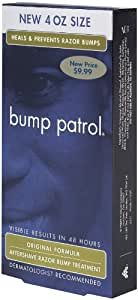 Bump Patrol Original Formula After Shave Intensive Treatment, 4 Ounce