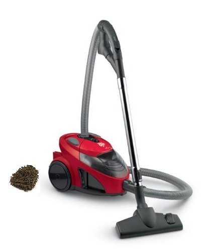 Dirt Devil EZ Lite Bagless Canister Vacuum SD40010 (Complete Set) w/ Gift: Premium Microfiber Cleaner (Dirt Devil Sd40010 compare prices)