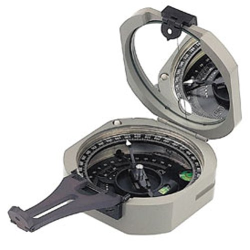 Brunton Pocket Transit International Compass with 0-90 Degree Quad Scales