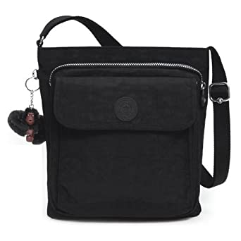 .com: Kipling Machida Crossbody, Black, One Size: Kipling: Clothing