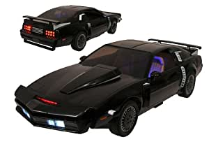 Diamond Select Toys Knight Rider Super Pursuit Mode KITT Electronic Action Figure Vehicle, 1:15 Scale