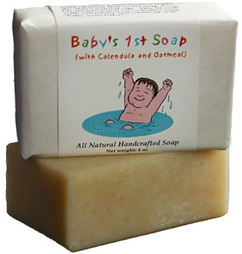 Baby's 1st Soap in Calendula Oatmeal