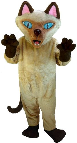 Siamese Cat Lightweight Mascot Costume