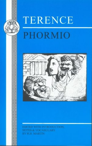 Terence: Phormio (Bristol Classical Press Latin Texts)