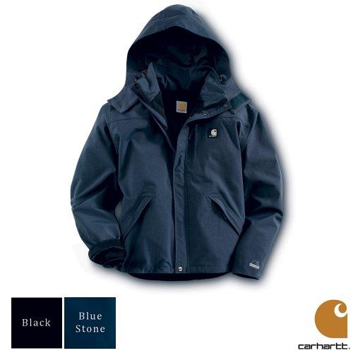 Carhartt Workwear Waterproof Breathable Mens Jacket Black Medium