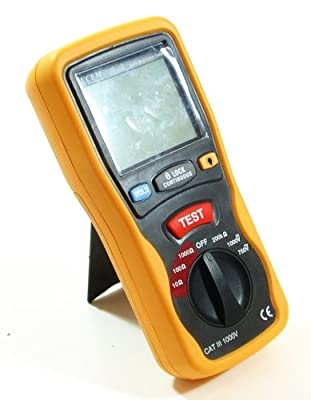 Ruby Electronics DT-5300 Industrial Digital Earth Ground Resistance Tester Ohm DC/AC Volt Meter