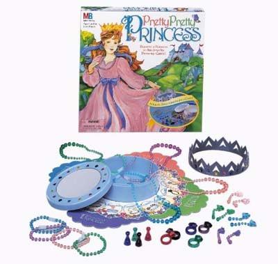 Pretty Pretty Princess Dress-Up Board Game