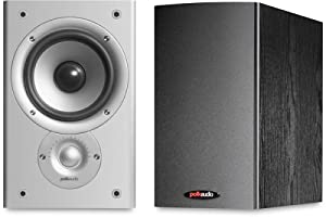 Polk Audio Monitor 30 AM3025-A 2-Way Bookshelf Speakers (Pair, Black)