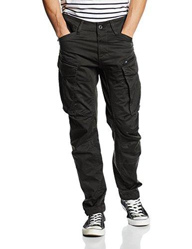 G-Star Raw Rovic Zip/3D tapered D02190-5126, Pantaloni da Uomo, Grigio (Raven), W34/L30 (Taglia produttore: 34/30)