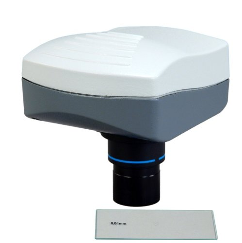 Omax 5.0Mp Microscope Digital Usb Camera With Advanced Software With 0.01Mm Calibration Slide