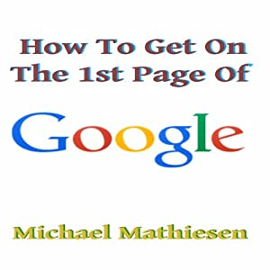 How to Get on the First Page of Google Audiobook