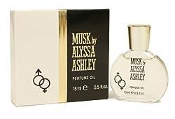 Alyssa Ashley Musk By Alyssa Ashley For Women. Perfume Oil 0.5 Oz.