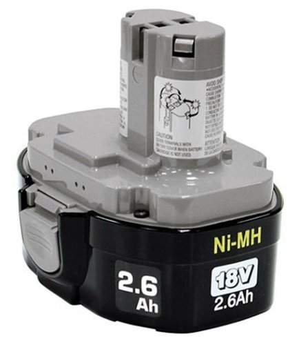 Makita 193159-1 1834 18-Volt 2.6 Amp Hour NiMH Pod-Style Battery