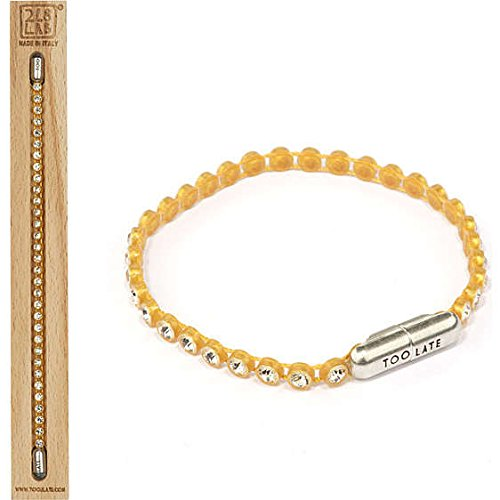 bracciale donna gioielli Too late Ping Pong trendy cod. 8034055648834