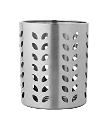 Dynamic Store Stainless Steel Leaf Hole Cutlery Holder
