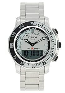 Mens Watch Tissot T0264201103101 T-Touch Stainless Steel T-Touch Sea Touch Analo