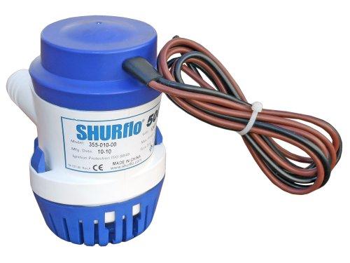 Electric Bilge Pump 500 Gph . Shurflo