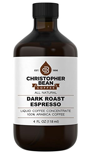 Dark Roast Espresso Cold Brew Or Hot Liquid Coffee Concentrate 4 Ounce Bottle