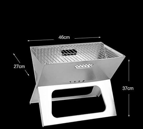 Deluxe-Portable-Foldable-Charcoal-Barbecue-Grill-Mini-BBQ-Grills