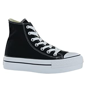 Converse CT Platform Black White Womens Trainers Size 5 US