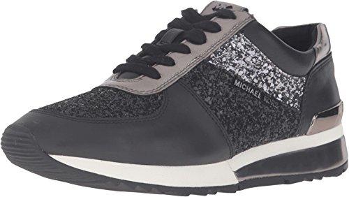 michael-michael-kors-womens-allie-trainer-black-glitter-vachetta-mirror-metallic-sneaker-95-m
