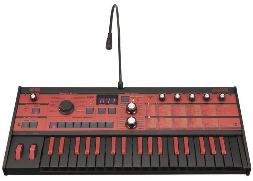 Korg microKORG Synthesizer/Vocoder Black/Red