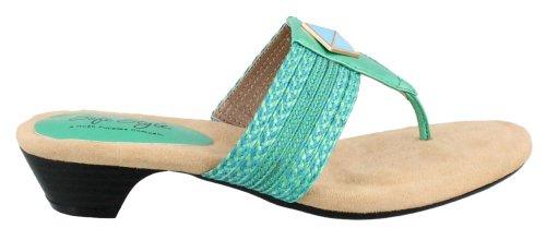 Womens Green Sandals