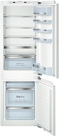 Bosch KIS86AF30 Intégré Blanc 194L 74L A++ réfrigérateur-congélateur - réfrigérateurs-congélateurs (Intégré, Blanc, Bas-placé, A++, SN, ST, 4*)