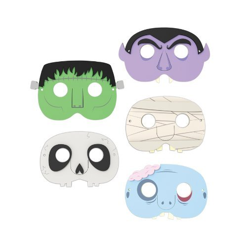 Kikkerland Party Masks, Monster - 1