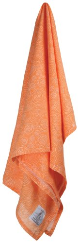 Little Giraffe Swaddle and Shelter Soleil Blanket Gift Set, Marigold