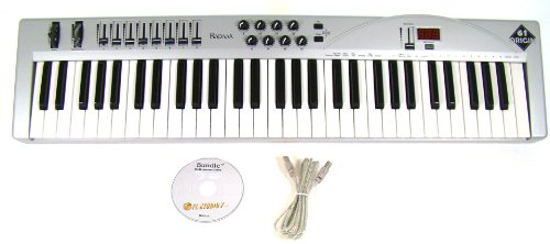 BadAax OR61 MIDI Keyboard Controller