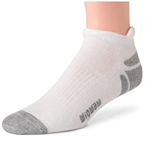 Wigwam Men's Ironman Thunder Pro Low-Cut Socks, White, Large