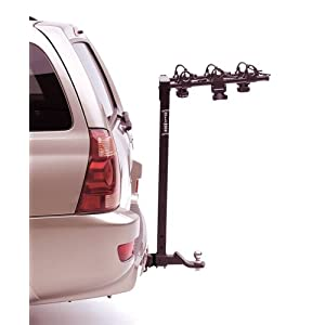 Hollywood Racks HR135 Tow N' Go 3-Bike Hitch Mount Trailer Towing Rack (2-Inch Receiver))