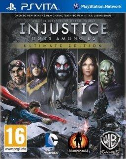 Injustice: Gods Among Us Ultimate Edition PS VITA UK (Vita)