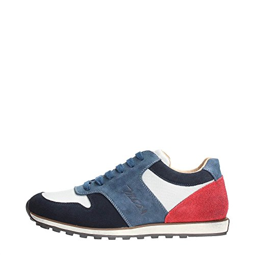 Mcs 161.M.458 166 Sneakers Uomo Tessuto Off White/Blue/Red Off White/Blue/Red 45