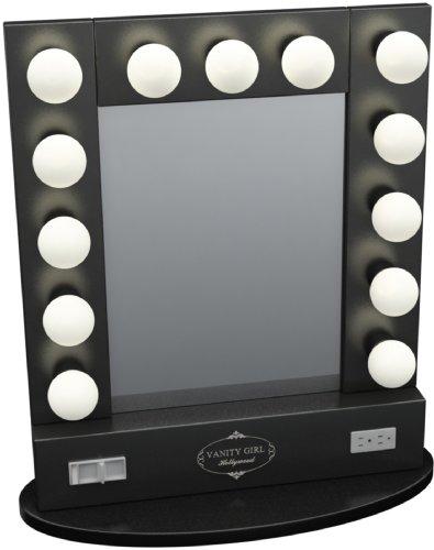 Vanity Mirror With Lights Black Friday : Black friday Broadway Table Top Lighted Vanity Mirror 27 Sale - Low price