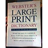 img - for Webster's Large Print Dictionary (New Easy to Read Edition) book / textbook / text book