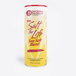 Salt for Life Sea Salt Blend with 70% Less Sodium - 11oz