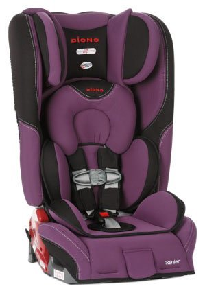 Diono Rainier Convertible+Booster Car Seat - Orchid, Size One Size front-549457